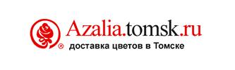 Разработка интернет-магазин доставки цветов Азалия в Томске