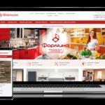 Разработка сайта для компании Формика