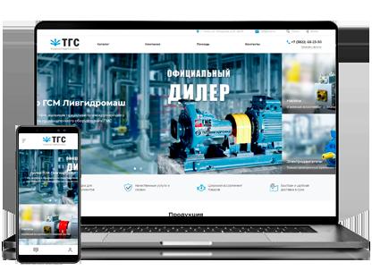 Разработка сайта для ТомскГиброСила