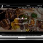 Создание сайта для ресторана Старый замок